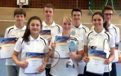 Neuenrader Badmintonnachwuchs ist Vize-Pokalsieger