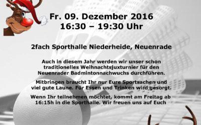 WEIHNACHTS-JUXTURNIER 2016