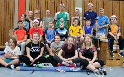 Badminton Juxturnier – TuS Neuenrade / Abt.Badminton